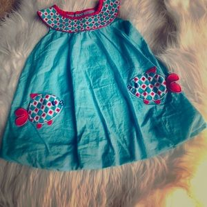 Adorable blue dress by Nursery Ryme